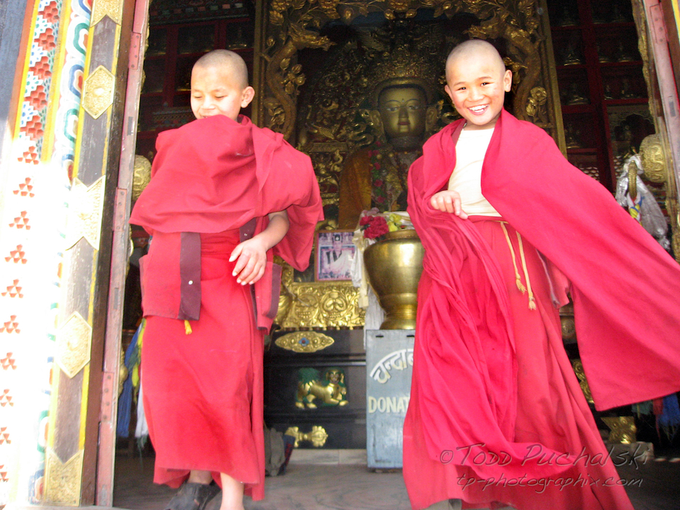 Buddhist Monk Students. Life within Life....