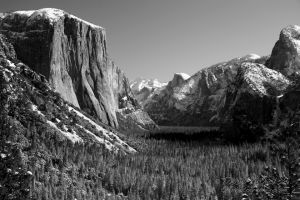 2006 Ansel Winter View 1 BW Yosemite NP CA.jpg